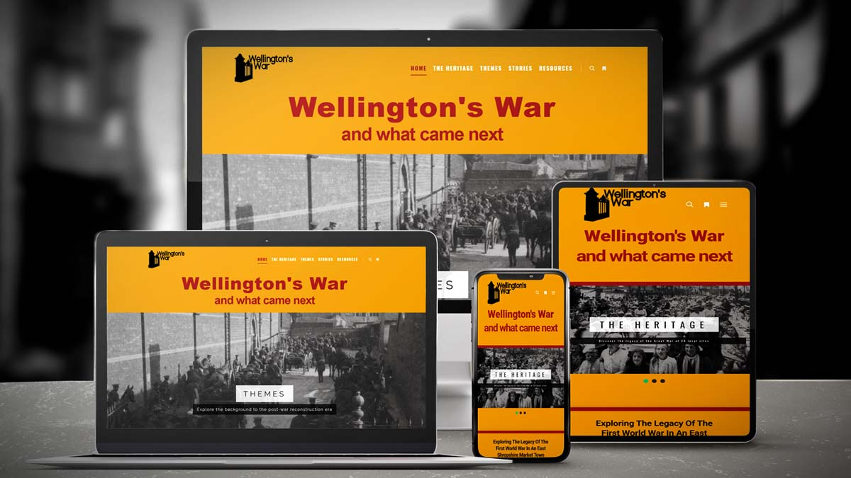 Wellys-War-Website